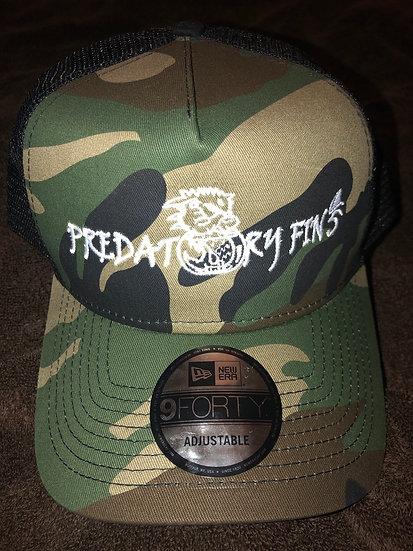 Predatory Fins Camo Hat