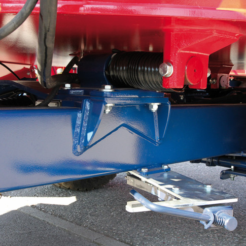Compact - Detalhe chassis e células de carga