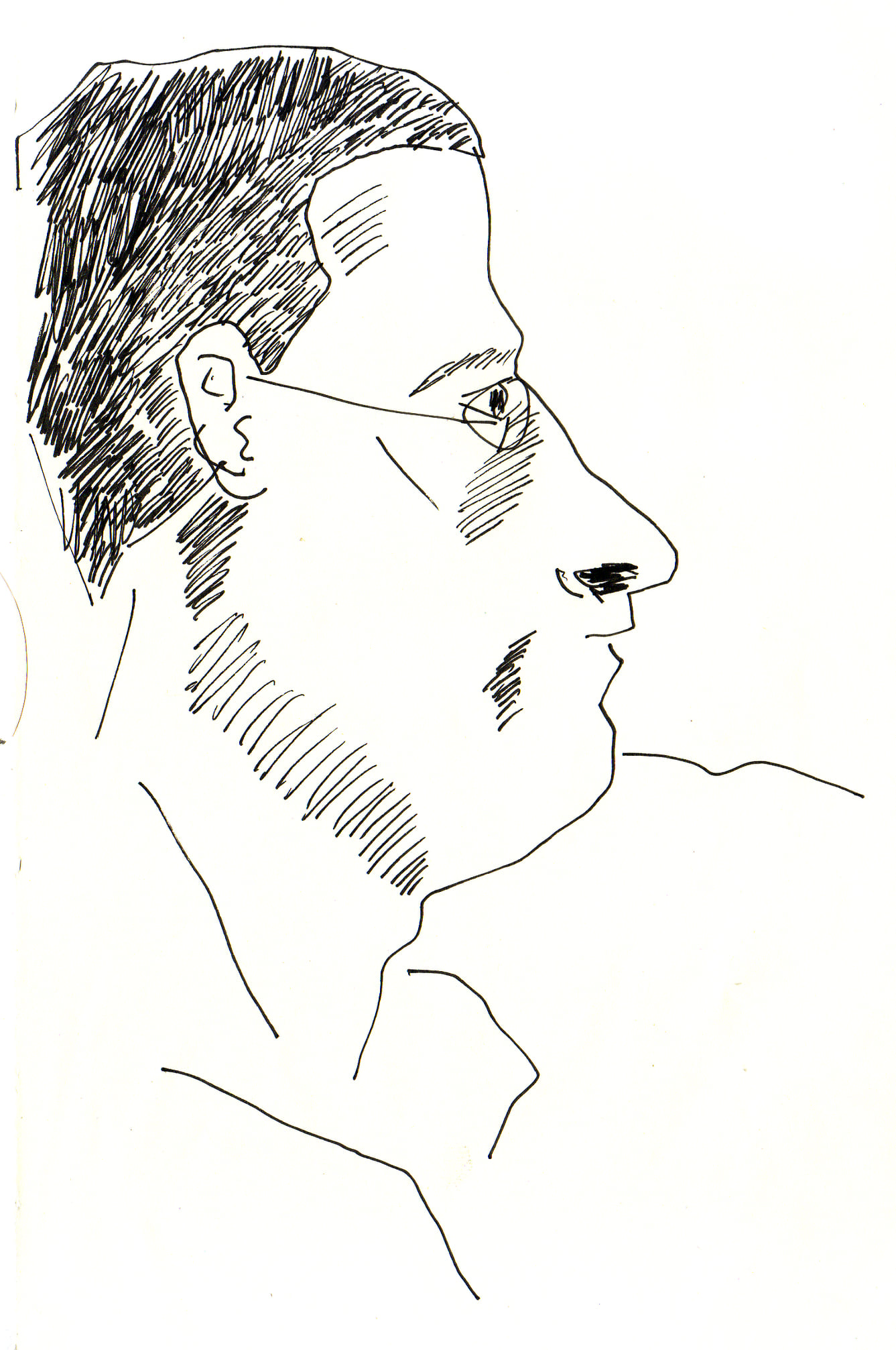 #lindarandazzo Gianni Gebbia penna su carta