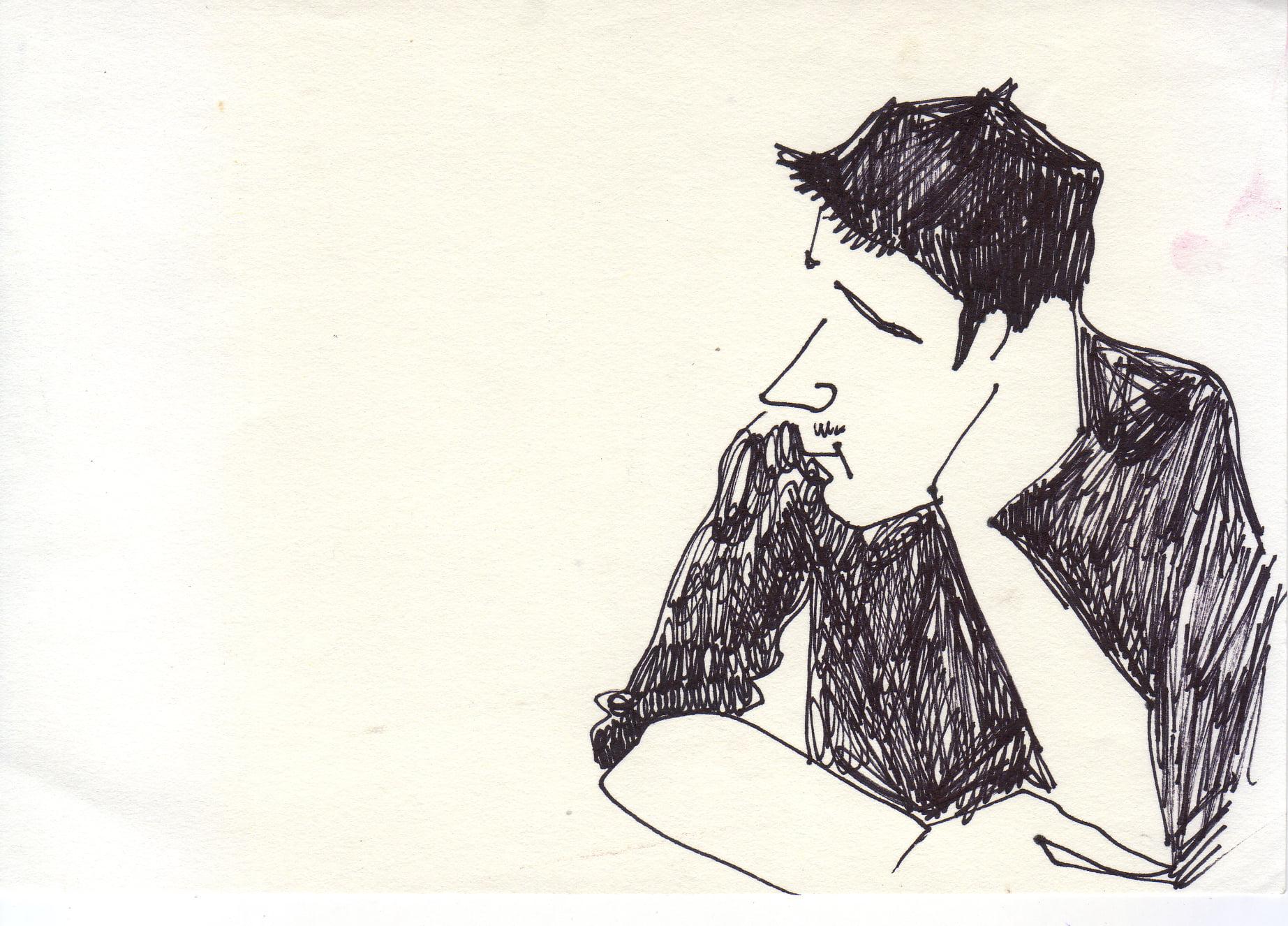 #lindarandazzo Vito Stassi penna su carta
