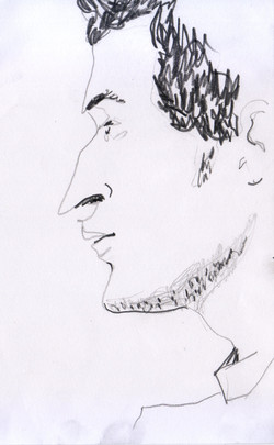 #lindarandazzo Giovanni Sortino matita su carta