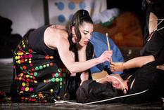 #lindarandazzo Performer per LA LUNGA NOTTE DELL'IMPROVVISAZIONE Da un'idea di Lelio Giannetto con 50 tra attori, pittori, performer, danzatori, musicisti, scrittori… xx anno di Curva Minore Cantieri Culturali alla Zisa Palermo 2017