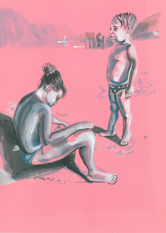 FRATELLI, 25 cm x 35 cm, ink on paper 2020