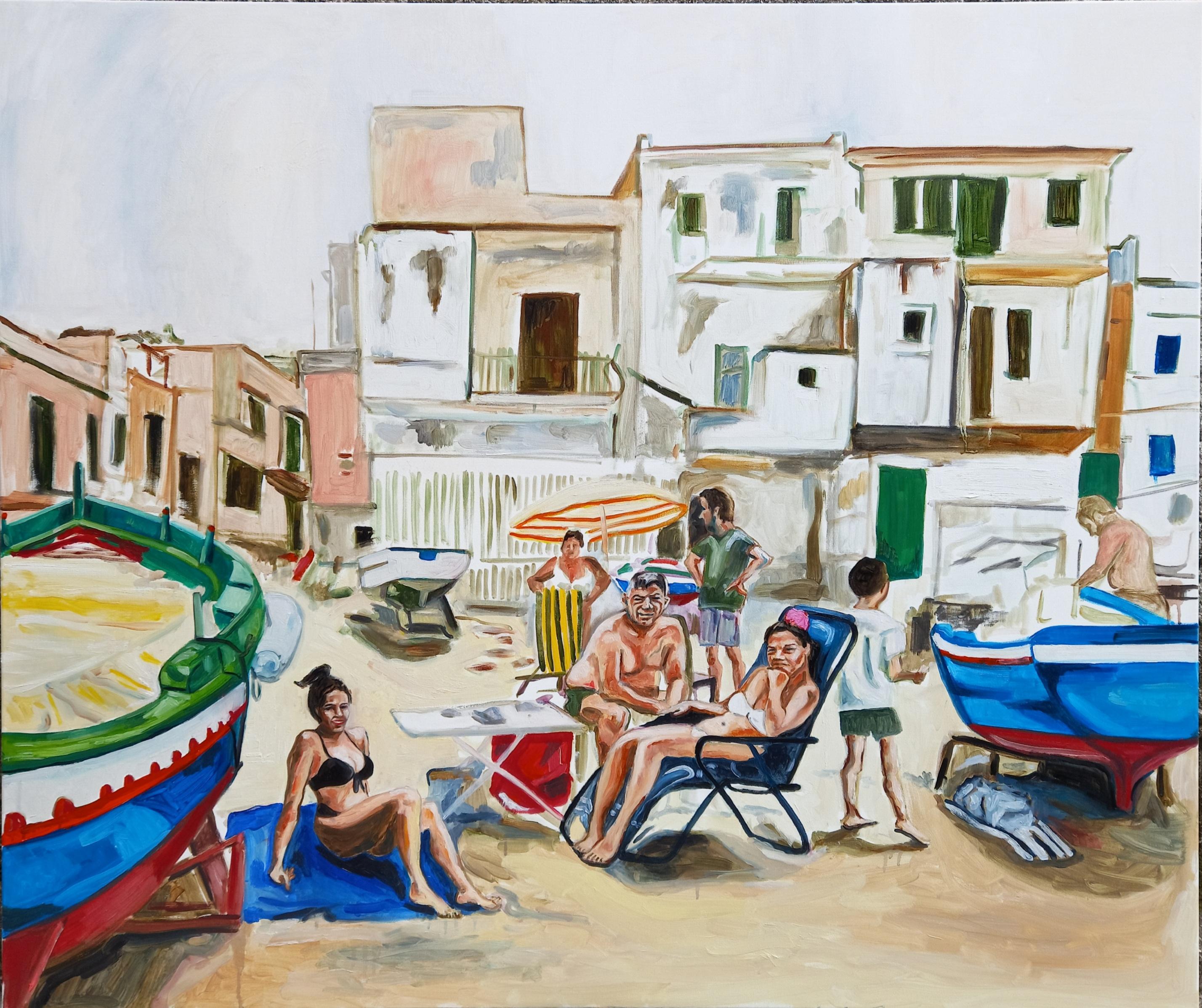 Sferracavallo, 100 cm x 120 cm, oil on canvas 2021