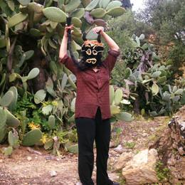 #lindarandazzo Performer for Sicilian Improviser Orchestra, curated by di Lelio Giannetto, Curva Minore, WALK ON A WILD GIRGENTI SIDE. Archeological park Agrigento.ARCOSOLI PrimaVera JAZZ 2017