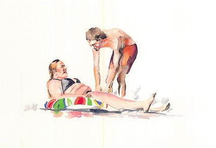 linda randazzo ciambella watercolor 29,7 cm x 42,0 cm 2020