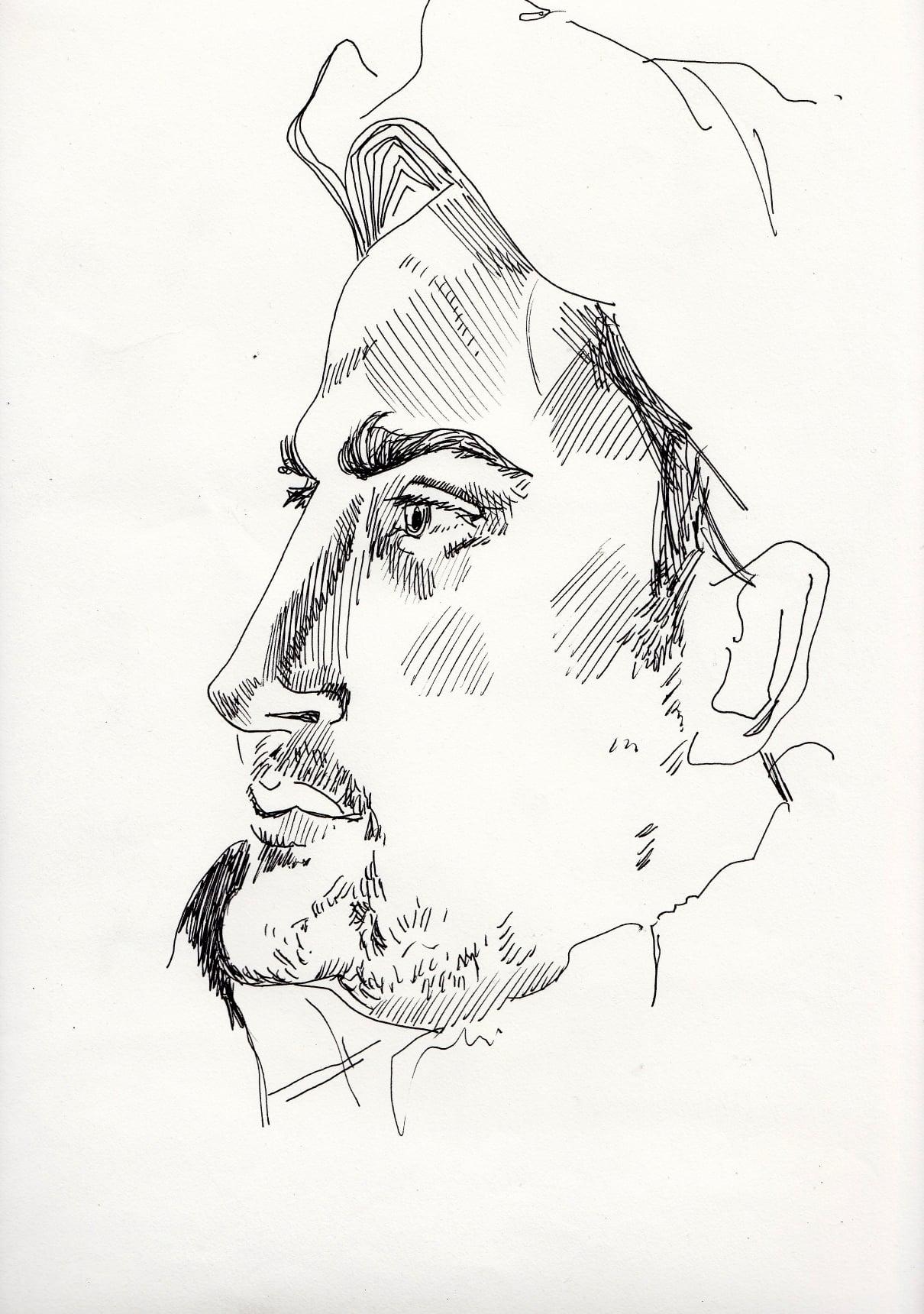 Manlio Sacco penna su carta 2013 Penna su carta