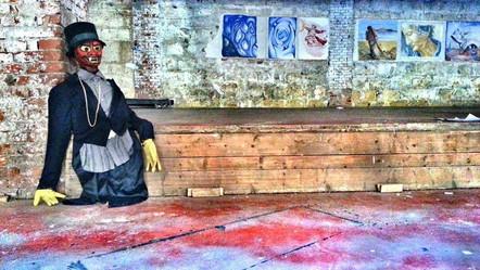 #lindarandazzo Performer per Residenza ai Cantieri Culturali della Zisa del Goldsmiths College-University of London a cura di Andrea Cusumano. 2014