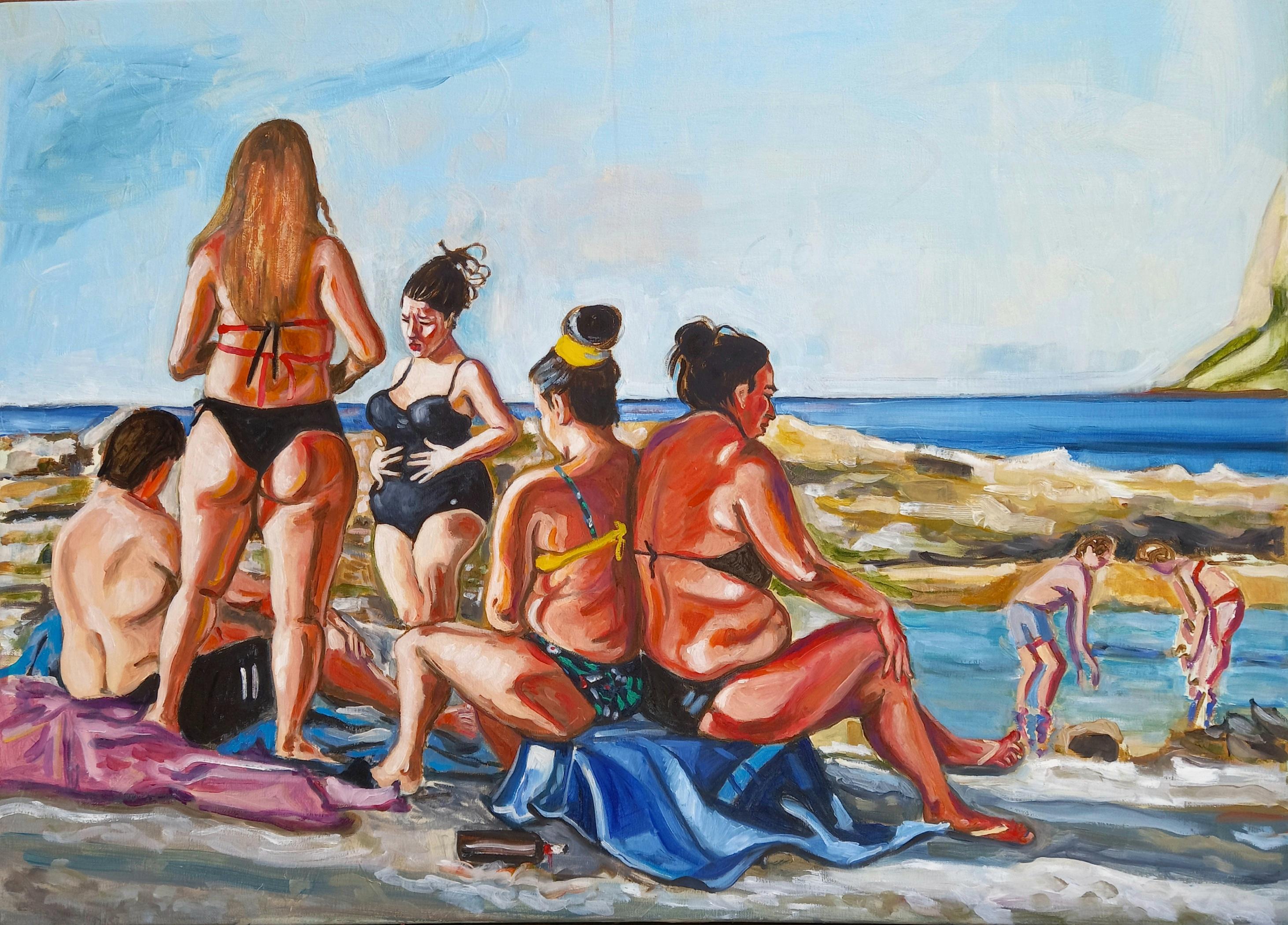 Barcarello, 70 cm x 100 cm , oil on canvas, 2021