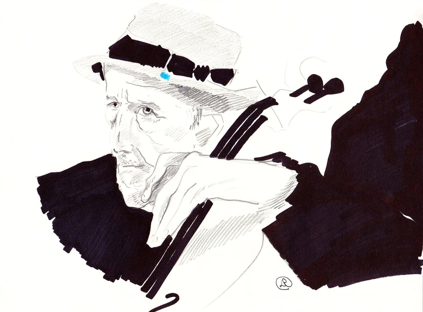 #lindarandazzo Tristan Honsinger realizzato durante un concerto organizzato da Curva Minore - contem
