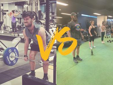 Group Training Versus Personal Training!
