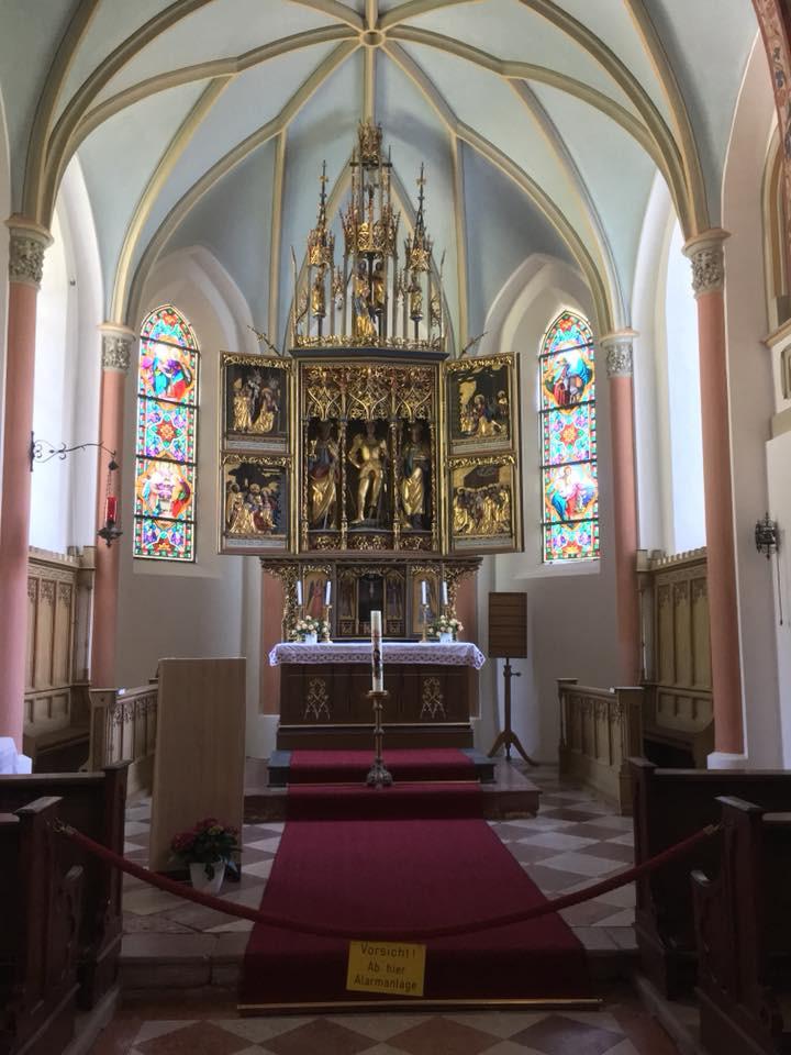 Interior da Capela de São Jorge