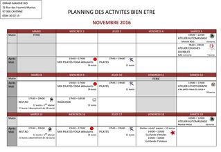 Nouveaux ateliers pour le mois de novembre