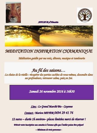 Méditation Inspiration Chamanique