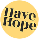 Have Hope Yellow Sticker