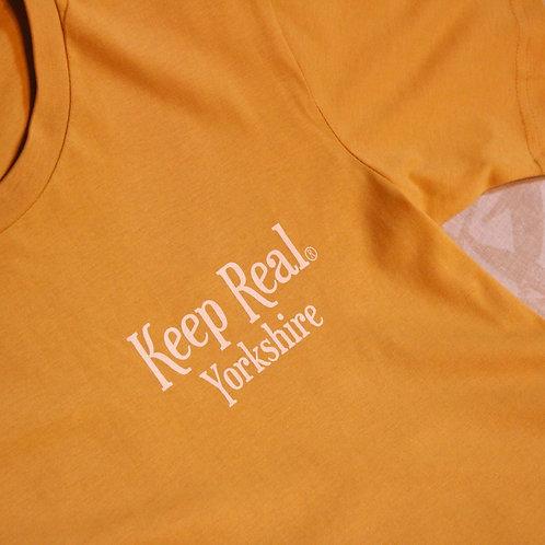 Keep Real Yellow Yorkshire Tee