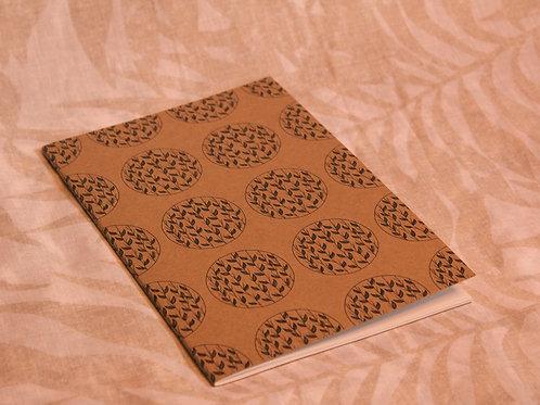 Leaves Print Notebook