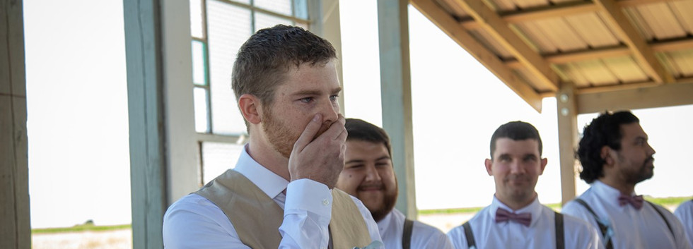 Seeing the bride
