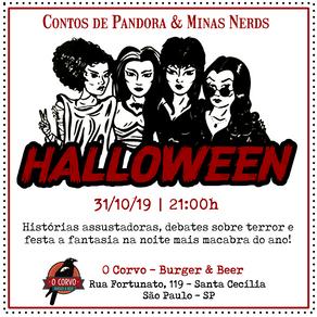 Halloween: Contos de Pandora e Minas Nerds