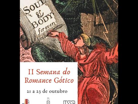 Contos de Pandora na II Semana do Romance Gótico da USP