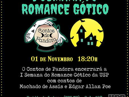 I Semana do Romance Gótico da USP