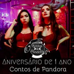 Projeto Contos de Pandora comemora Aniversário de 1 Ano