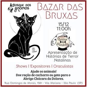 3º Bazar das Bruxas com Histórias Natalinas Macabras