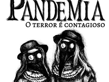 """Livreto """"Pandemia - O Terror é Contagioso"""""""