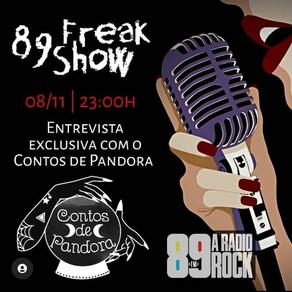 89 Freak Show entrevista Contos de Pandora