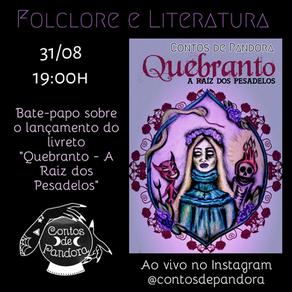 """Live """"Folclore e Literatura"""""""