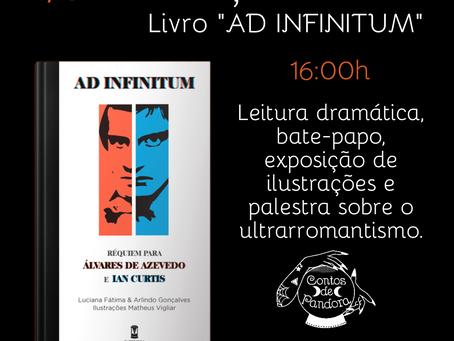 """Contos de Pandora no lançamento do livro """"Ad Infinitum"""""""