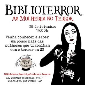 BIBLIOTERROR: As Mulheres No Terror