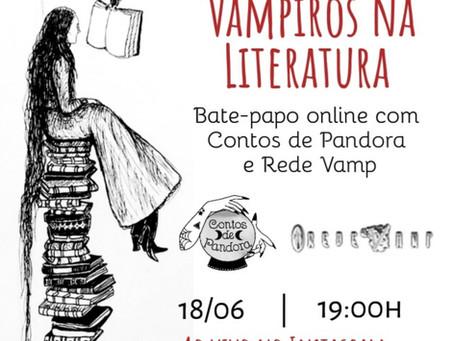 LIVE: Vampiros na Literatura