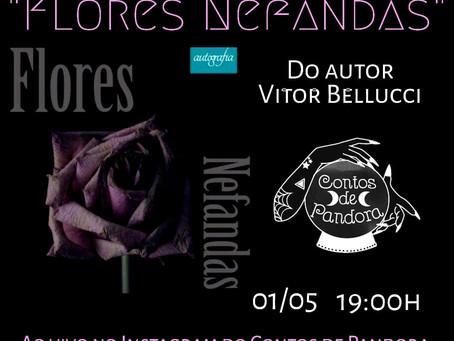 """LIVE Literária: """"Flores Nefandas"""""""