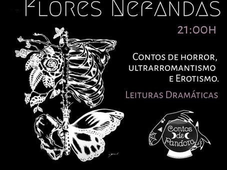 """Contos de Pandora no Lançamento do Livro """"Flores Nefandas"""""""