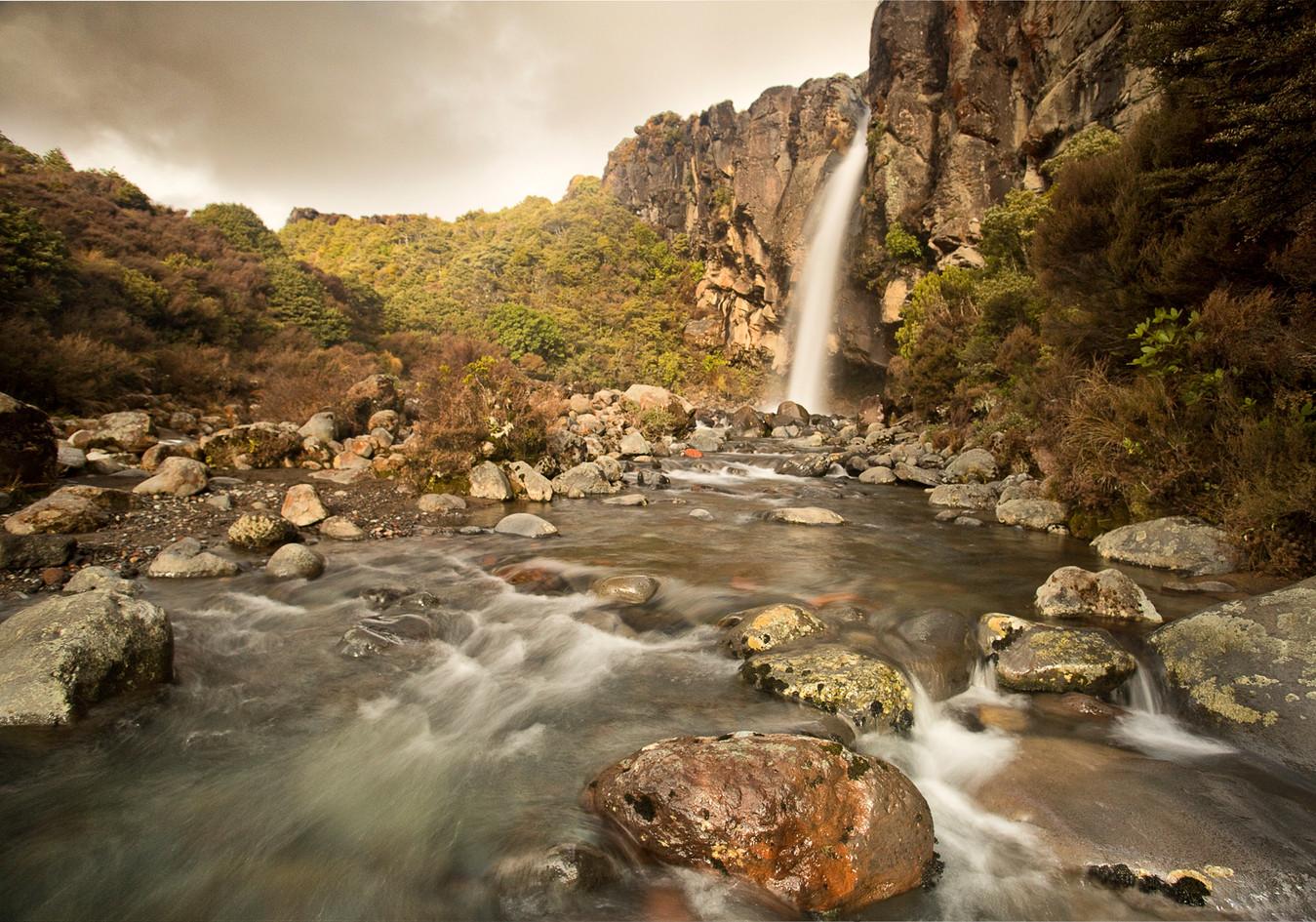 Taranaki Falls, Tongariro National Park