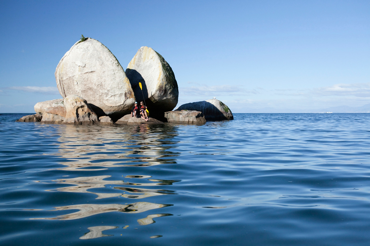 Split Apple Rock is a magnet for tourists