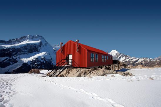 Mueller Hut is NZ's highest backpacker hostel