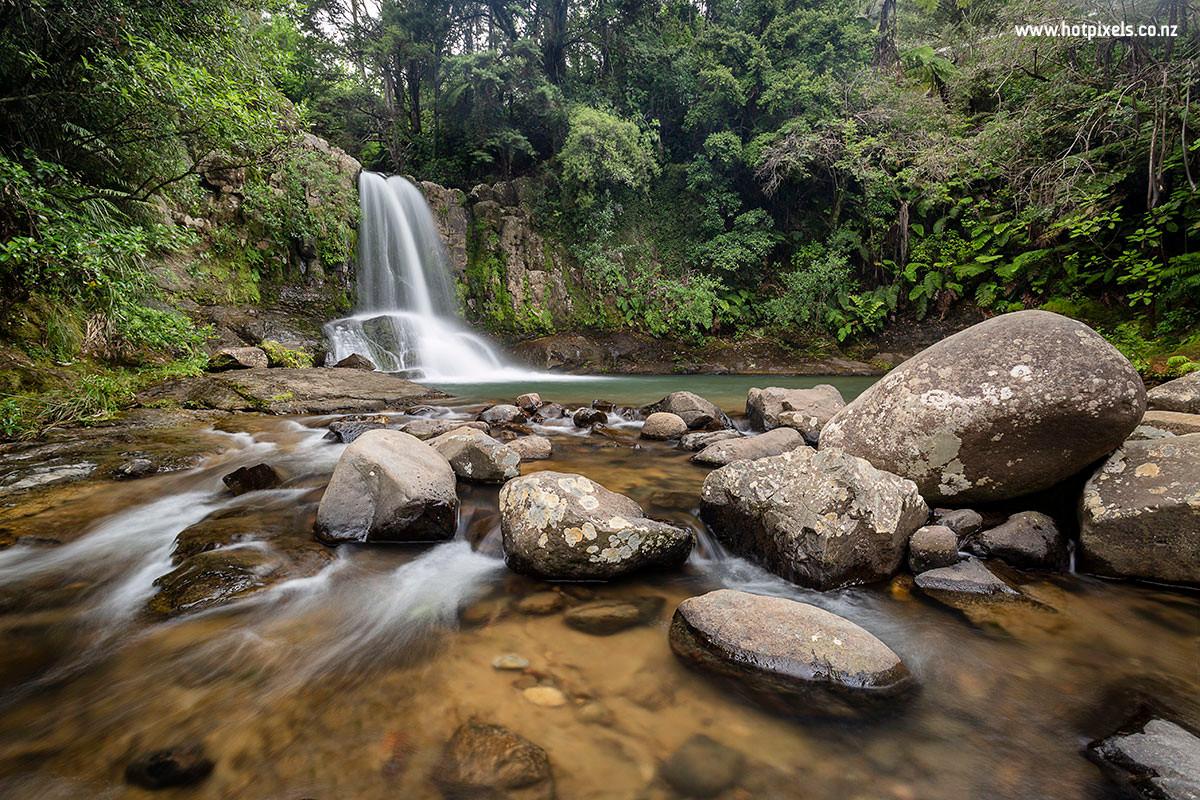 Waiau Falls, Coromandel Forest Park