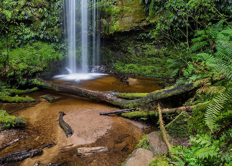 Koropuku Falls, Catlins county