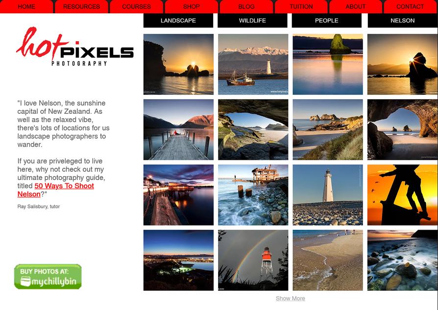 Hot Pixels Photography