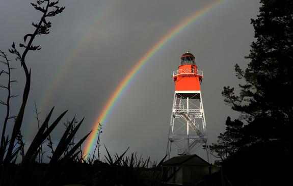 Farewell Spit Lighthouse, Golden Bay