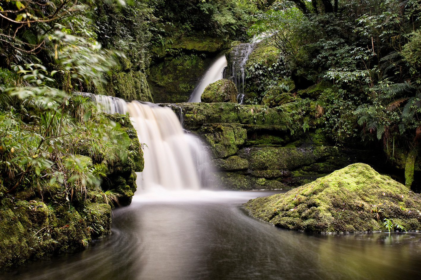 McLean Falls is the most beautiful cascade in the Catlins