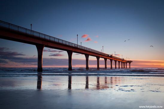 New Brighton Pier, Christchurch