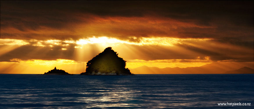 Pinnacle Island, Abel Tasman