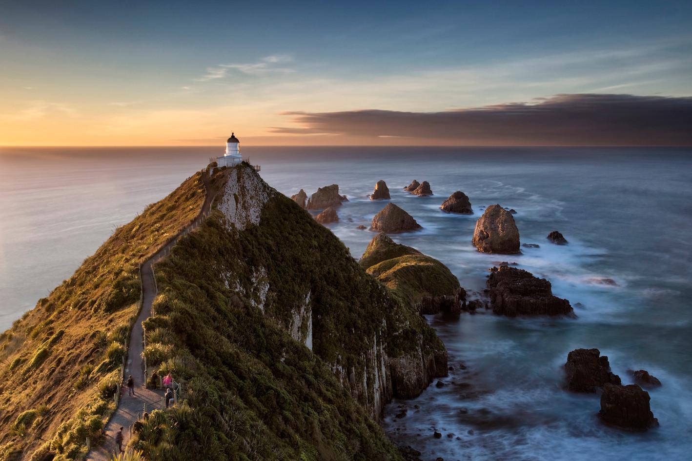 Golden Hour at Nugget Point, Otago