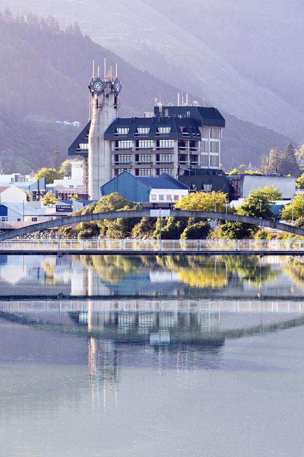 NCC Building & Maitai River, Nelson, NZ