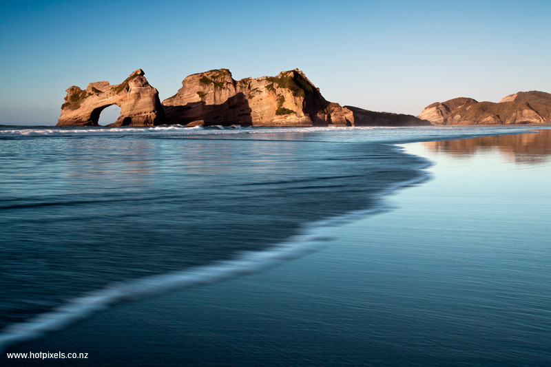 Archway Islands, Wharariki, Golden Bay