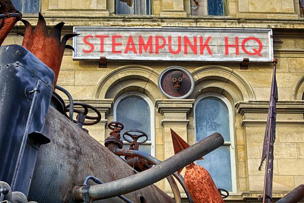 Steampunk HQ - close up