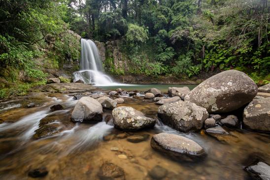 Waiau Falls is the gem of the Coromandels
